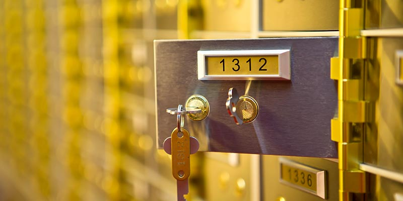 Safety Deposit Boxes Essex