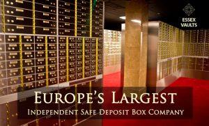 safety deposit boxes Essex England